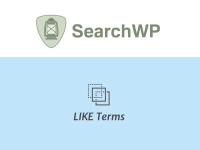 SearchWP LIKE Terms  2.4.6