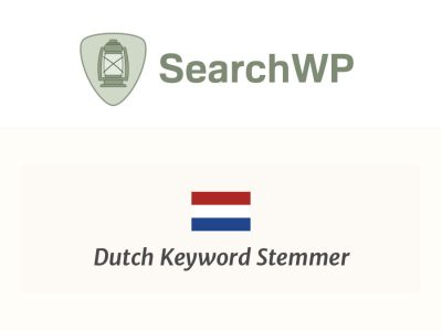 SearchWP Dutch Stemmer  1.2.4