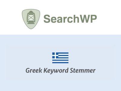 SearchWP Greek Stemmer  1.0.2