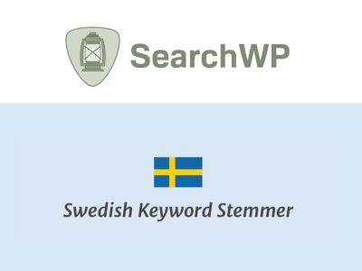 SearchWP Swedish Stemmer  2.0.2