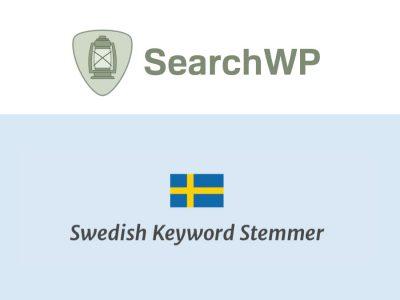 SearchWP Swedish Stemmer  2.0.2