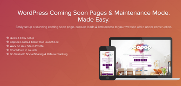SeedProd Coming Soon Pro - WordPress Coming Soon Pages & Maintenance Mode 5.12.8