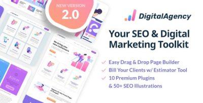 SEOWP | SEO & Digital Marketing WordPress Theme 2.1