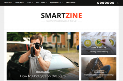 Theme Junkie SmartZine WordPress Theme 1.2.0