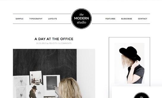 StudioPress Modern Studio Pro Theme 2.2.2