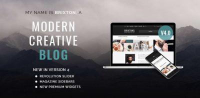 Brixton – WordPress Blog Theme 5.0