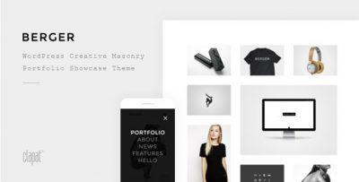 Berger – WordPress Creative Agency Portfolio Theme 2.1