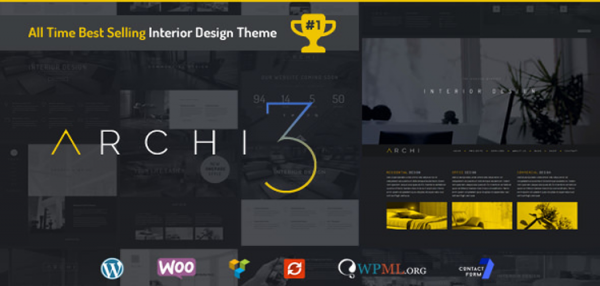Archi - Interior Design WordPress Theme 4.3.5.2