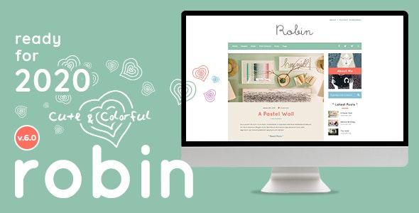 Robin - Cute & Colorful Blog Theme 7.0