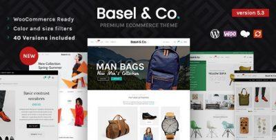 Basel - Responsive eCommerce Theme  5.4.2