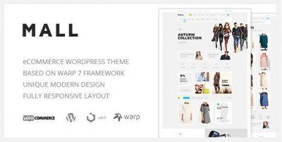 Mall – Clean Multi-Purpose WooCommerce Responsive WordPress Theme 1.1.3