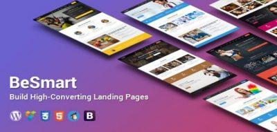 BeSmart High-Converting Landing Page WordPress Theme  1.8
