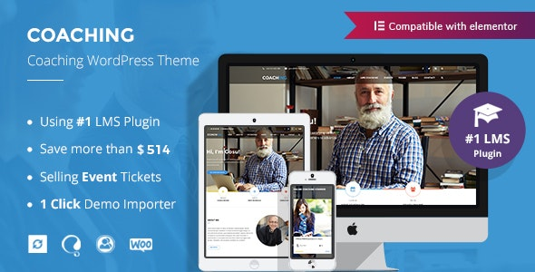 Colead | Coaching & Online Courses WordPress Theme 3.3.0