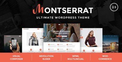 Montserrat – Multipurpose Modern WordPress Theme 2.5
