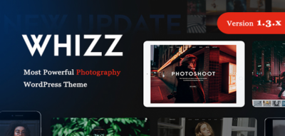 Whizz | Photography WordPress for Photography 1.4.3