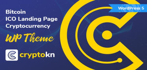 Cryptokn - ICO Landing Page & Cryptocurrency WordPress Theme 1.1