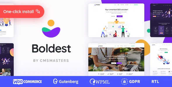 Boldest - Consulting and Marketing Agency Theme  1.0.1