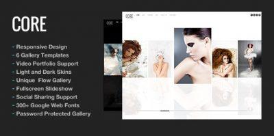 Core Minimalist Photography Portfolio 5.9.1