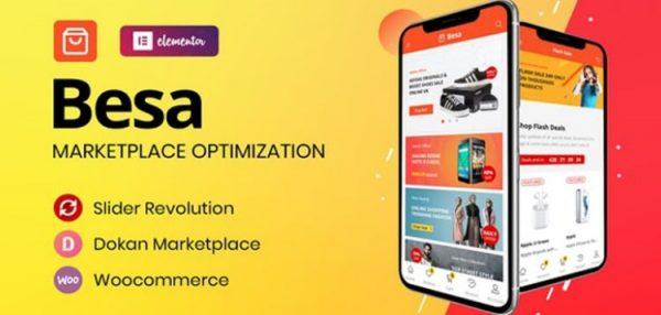 Besa - Elementor Marketplace WooCommerce Theme  1.2.11