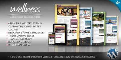 Wellness – A Health & Wellness WordPress Theme 2.0.1