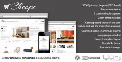 Cheope Shop – Flexible e-Commerce Theme 2.6.3