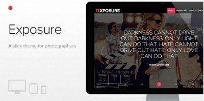 Exposure – Fullscreen Responsive Photography Theme  1.1.8