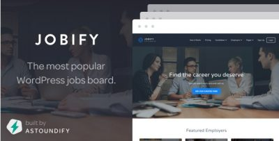 Jobify – WordPress Job Board Theme 3.6.1