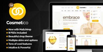 Cosmetico – Responsive eCommerce WordPress Theme 2.2