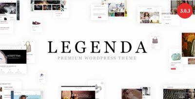 Legenda – Responsive Multi-Purpose WordPress Theme 4.3.1