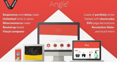 Angle – Flat Responsive Bootstrap MultiPurpose Theme 1.18.16