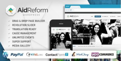 Aid Reform – NGO Donation and Charity Theme 2.1