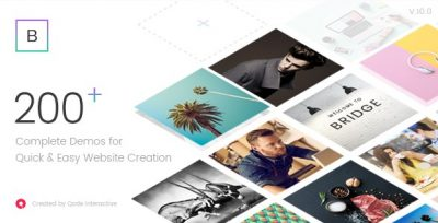 Bridge – Creative Multi-Purpose WordPress Theme 24.7