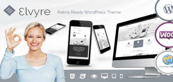 Elvyre – Retina Ready Wordpress Theme 1.9.1