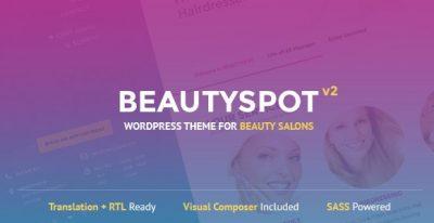 BeautySpot – WordPress Theme for Beauty Salons 3.4.5