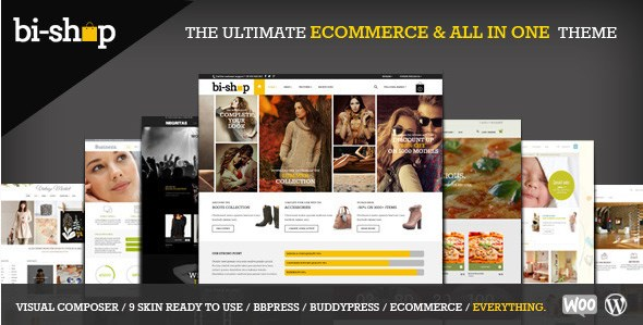 Bi-Shop All In One – Ecommerce & Corporate Theme  1.6.6
