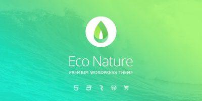 Eco Nature – Environment & Ecology WordPress Theme 1.4.1