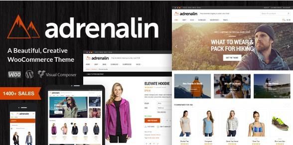 Adrenalin – Multi-Purpose WooCommerce Theme 2.0.8