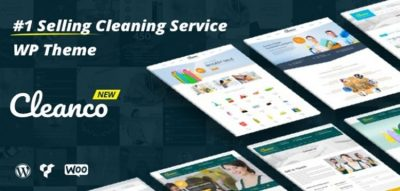 Cleanco - Cleaning Service Company WordPress Theme 3.3.2
