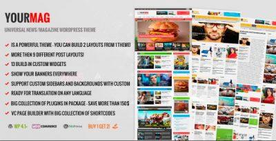 YourMag – Universal WordPress News Magazine Theme 1.6.1