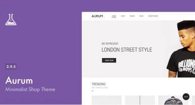 Aurum – Minimalist Shopping Theme 3.7.1