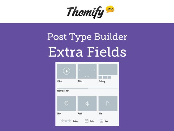 Themify Post Type Builder Extra Fields Addon 1.5.0