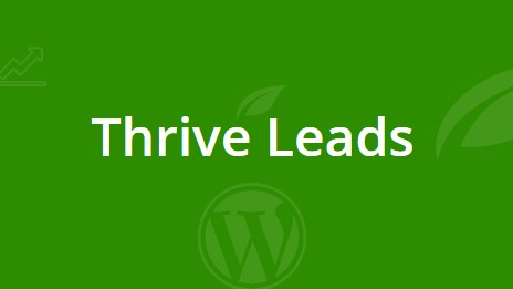 Thrive Themes Leads 3.1