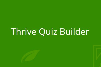 Thrive Quiz Builder 2.3.9.1