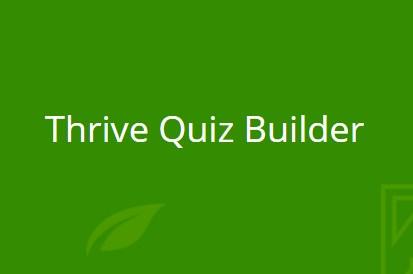 Thrive Quiz Builder 2.9