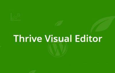 Thrive Visual Editor 2.6.9