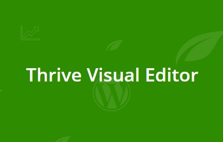 Thrive Visual Editor 3.1