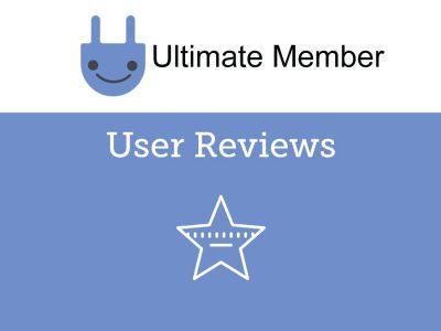 Ultimate Member User Reviews Addon 2.2.0