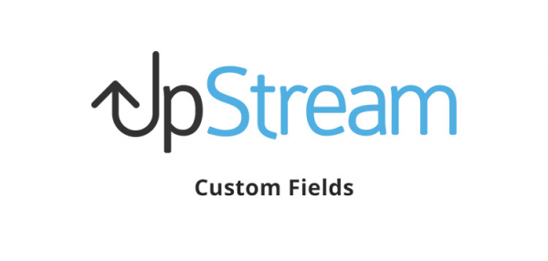 UpStream - Custom Fields Extension 1.9.1