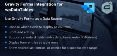 Gravity Forms integration for wpDataTables 1.3
