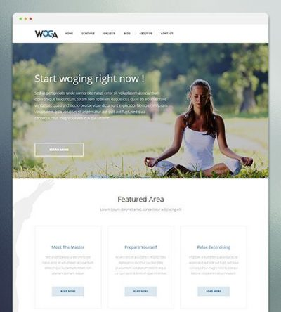 Woga WordPress Theme 1.3.1